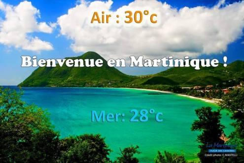 Il fait toujours beau au Diamant Martinique