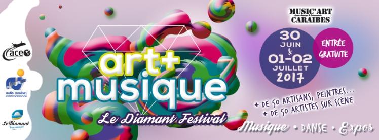 Art & Musique festival au Diamant Martinique