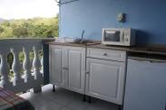 Terrasse avec kitchenette